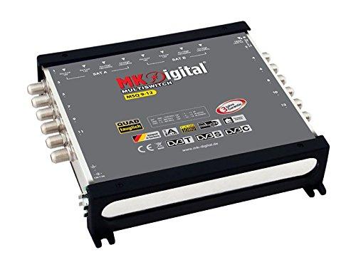 MK-Digital MSQ 9-12 Multischalter Quad tauglich,3 jahre Garantie