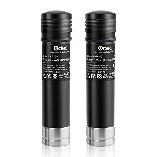 odec-replacement-battery-36v-3000-mah-2-pack-ni-mh-cells-for-black-decker-versapak-vp100-vp110-vp142