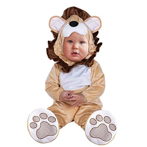 Pagliaccetto leone,unisex pagliaccetti invernale bambino halloween carnevale pigiama 3pc