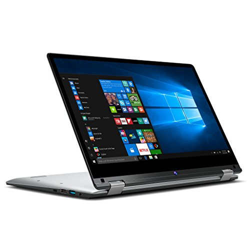MEDION AKOYA E3215 MD 60794 33,8 cm (13,3 Zoll Full HD Display) Convertible Touch-Notebook (Intel Pentium N4200, 4GB RAM, 64GB Flash, Win 10 Home) silber