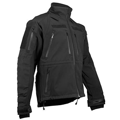 Copytec Tactical Kommando Softshell Jacke KSK Spezialkräfte Security Dienstjacke #14084, Größe:XXL, Farbe:Schwarz