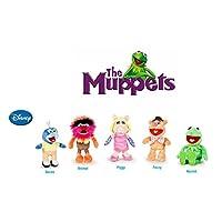 "The Muppets - Pack 5 plush toy Quality super soft - Kermit the frog 8""/22cm + Miss Piggy 7""/20cm + Gonzo 7""/19cm + Fozzie the bear 8""/21cm + Animal 7""/20cm"