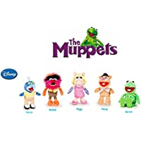 The Muppets (Los Teleñecos) - Pack 5 peluches Calidad super soft - Rana Gustavo