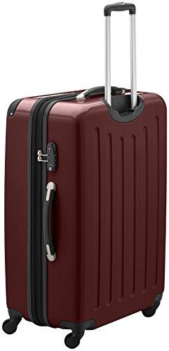 HAUPTSTADTKOFFER - Alex - Hartschalen-Koffer Koffer Trolley Rollkoffer Reisekoffer Erweiterbar, 4 Rollen, TSA, 75 cm, 119 Liter, Burgund - 2