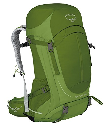 Osprey paquetes Sirrus 36 Mochila, color Thyme Green, tamaño S-M