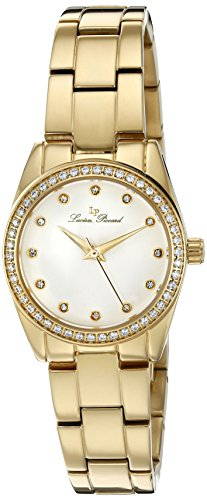 Lucien Piccard Womens Analogue Quartz Watch with Stainless Steel Strap LP-40023-YG-22