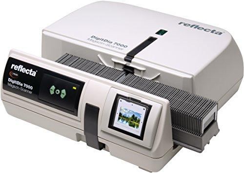 DIASCANNER MIETEN 1 WOCHE, Reflecta DigitDia 7000, Nachfolgemodell des DigitDia 6000, Schnelle Digitalisierung von Diamagazinen, Diascannen mit einer Auflösung von 10000 dpi