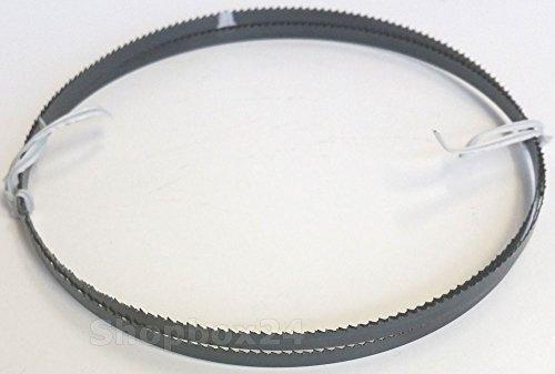 Premium Sägeband Bandsägeband Bandsägeblatt Sägebänder 2100 mm x 6 mm x 0,36 mm x 10 Zähne pro Zoll , für Sperrholz , für Maschinen wie : Scheppach HBS 32 Vario u.v.m.