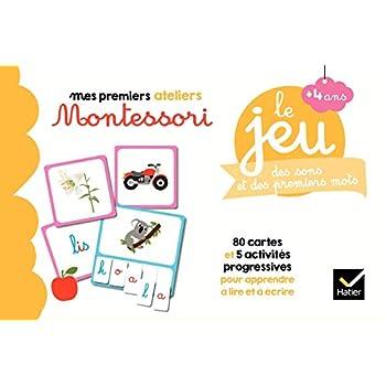 Le jeu Montessori des sons et des premiers mots