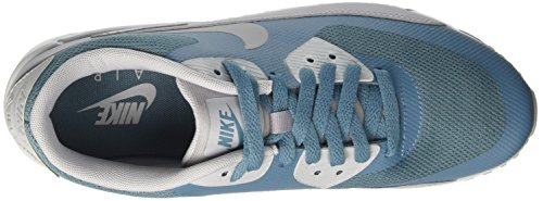 Nike Mens Air Max 90 Ultra 2.0 Sneakers Essenziali Blu (blu Fumo / Grigio Lupo / Platino Puro)
