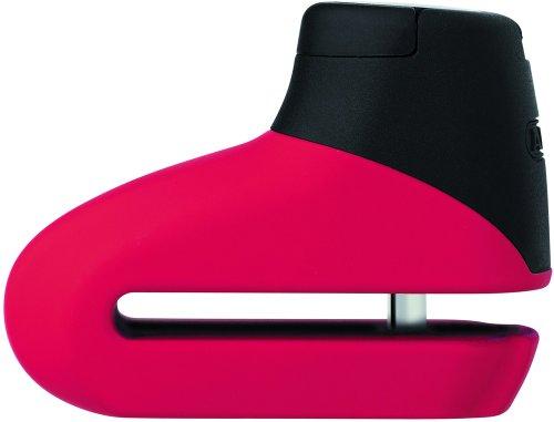 ABUS 43789 Bloccadisco, Rosso Opaco, 5 mm