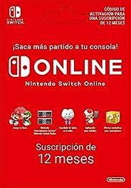 Nintendo Switch Online - 12 Meses | Nintendo Switch - Código de descarga