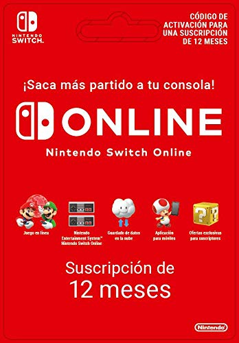 Nintendo Switch Online - 12 Meses | Nintendo Switch