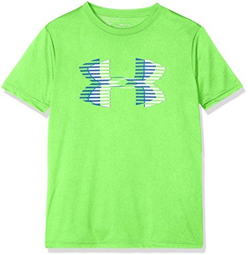 Solid Tech T-shirt (Under Armour Jungen Tech Big Logo Solid Tee Kurzarmshirt, Arena Green, YMD)