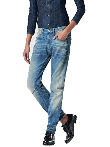 G-Star Damen Jeans Arc 3D Low Boyfriend It Aged, Größe:W 27 L 36;Farbe:lt aged (424) (Arc-top)
