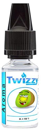 10ml Twizzy Kiwi Aroma | Aroma für Shakes, Backen, Cocktails, Eis | Aroma für Dampf Liquid und E-Shishas | Flav Drops | Ohne Nikotin 0,0mg