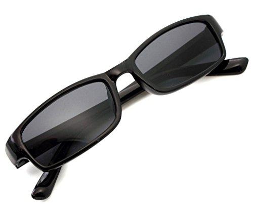 4sold Lectores de Sol Gafas de Lectura Hombres Mujeres Gafas de sol Slim Sun UV400 Reader Dioptria +0.50 +0.75 1.00 +1.5 +2.00 +2.5 +3.5 +4.00 (Black, 1.50)
