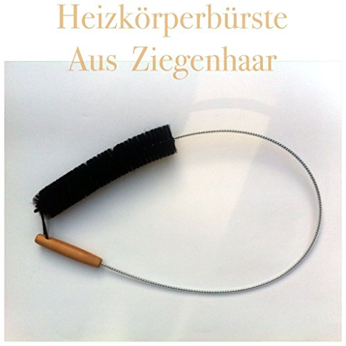 Heizkörperbürste120cm Haarbesatz 25cm Ziegenhaarbürste Heizkörperreiniger bürste