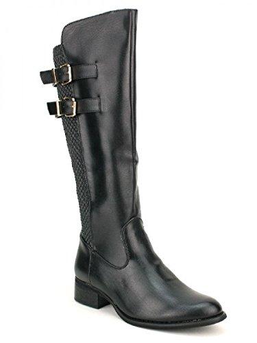 Cendriyon, Cavalière Noire DANAMA Chaussures Femme Noir