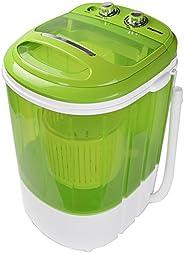 Syntrox Germany WM-200W Machine à laver avec fonction essorage, petit format, pour camping (WM-200W-vert)