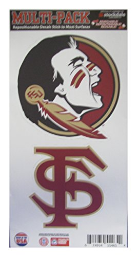 stockdale-florida-state-feather-logo-repositionable-decal-multi-pack