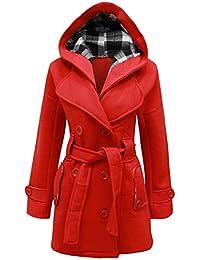 outlet store 8e754 435d6 Amazon.it: cappotto rosso donna - S / Donna: Abbigliamento