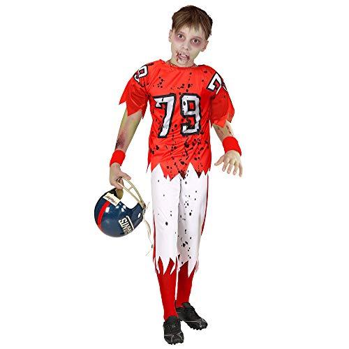 WIDMANN 03159 - Disfraz infantil zombi jugador fútbol