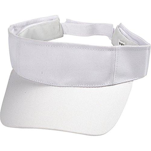 Creativ Company 497300 Mütze, Mütze, Mütze und Kopfbedeckung Baumwolle - Mützen, Hüte und Kopfbedeckungen für Erwachsene, Mütze, Weiß, Visor Stoff, Baumwolle