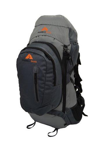 Guerilla Packungen Roundhouse interne Rahmen Backpack, Middle Grey/Dark Grey -
