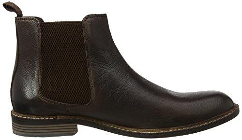 Lotus Herren Blakesley Combat Boots Brown (Chocolate Leather)