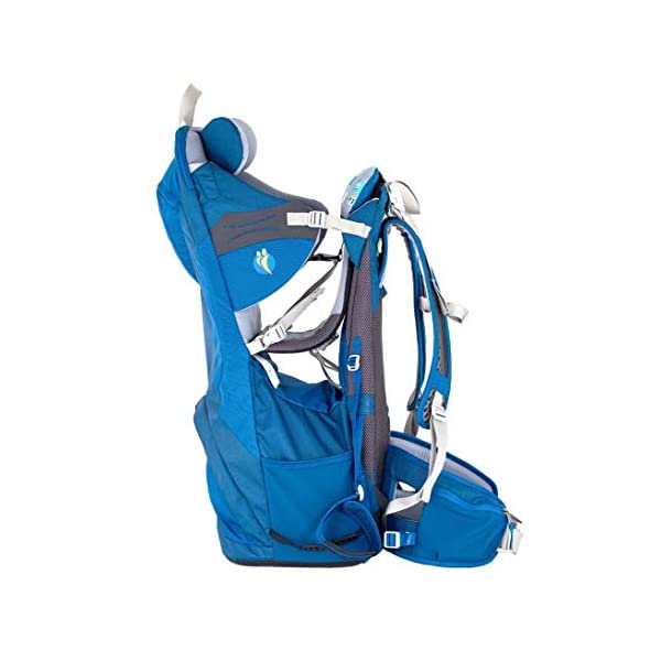 "LittleLife Unisex's Freedom S4 Child Carrier (blue) Back, One size LittleLife Anatomically shaped child seating area, with neck support and soft face pad Includes rear view mirror, sun shade and Foot stirrups Suitable for adults 1.57 - 1.87M/ 5'2"" - 6'4"" 4"
