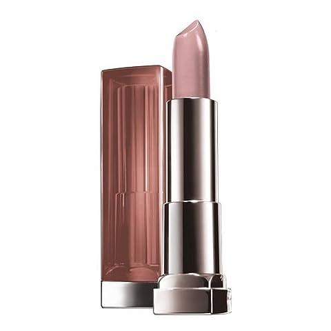 Maybelline New York Make-Up Lippenstift Color Sensational Nudes Lipstick Tantalizing Taupe / Natürlicher Hautton mit pflegender Wirkung, 1 x 5 g