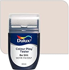 Dulux Color Play 30 ml Paint Tester (Be Still, Color Code: 90YR 74_057)