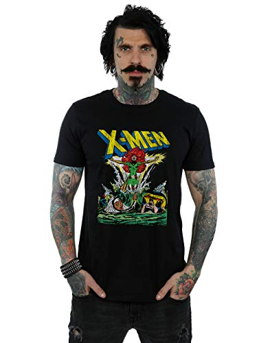 Marvel Hombre X-Men Enter The Phoenix Camiseta Negro Large