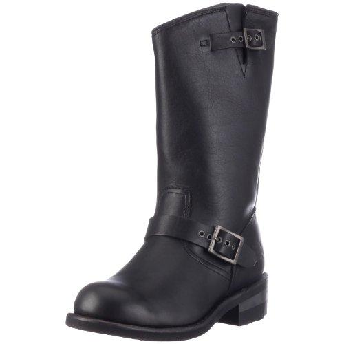 Harley Davidson D97228 BROOKLYN HI / BLK, Herren Stiefel, Schwarz (black), EU 46 (Schuhe Hi Brooklyn)