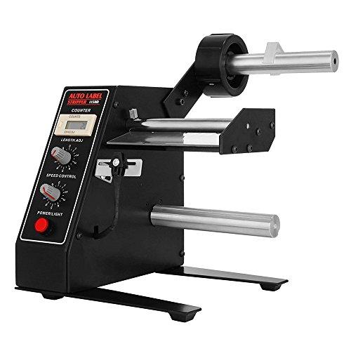 TOPQSC Automatische Etikettenspender 1-8 M/Min Label Counter Label Dispenser Maschine Aufkleber Trennung für Verschiedene Etikettengrößen