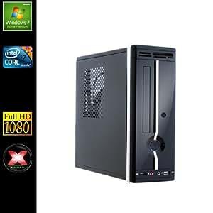 Sedatech Mini-PC Evolution Desktop (Intel i7-4770T 4x 2.5GHz Processor, 16GB RAM, 2000GB HDD, 250GB SSD, DVD-RW, USB 3.0, Full HD 1080P, Card Reader, Windows 7)