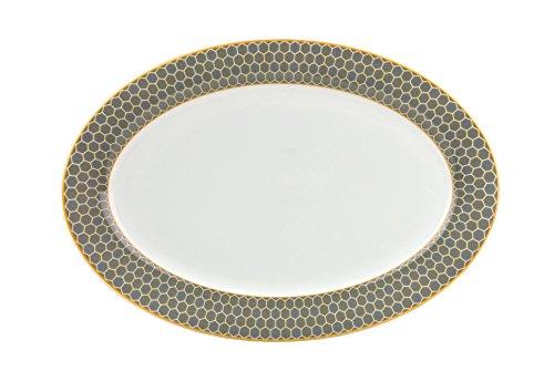 Van Well Platte Honey, oval 30x21cm