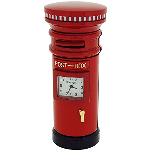 Miniature Red Letter Box-movimento al quarzo collezionisti orologio 9757