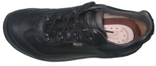 Meindl 5181-10 Kopenhagen uomo scarpe pelle Gore Tex Nero
