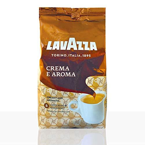 Lavazza Kaffee Crema E Aroma, ganze Bohnen, Bohnenkaffee (10 x 1kg Packung)