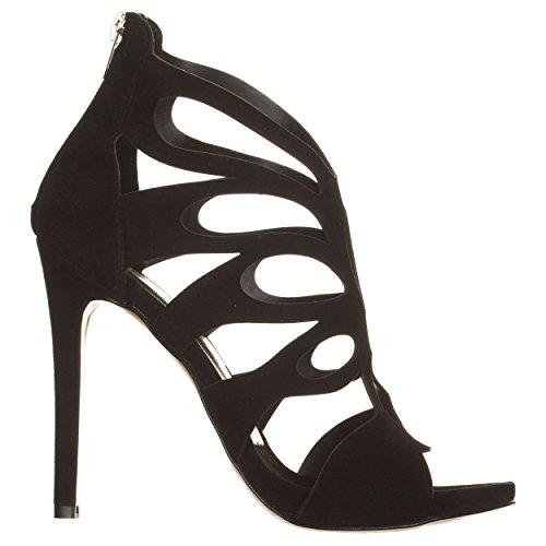 Sandali con tacco NERO Nero