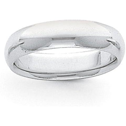 Icecarats Designer Di Gioielli Dimensione 8 8 Millimetri Di Platino Comodità Semicircolare Fit Banda Leggero - 8 Millimetri Platinum Wedding Band