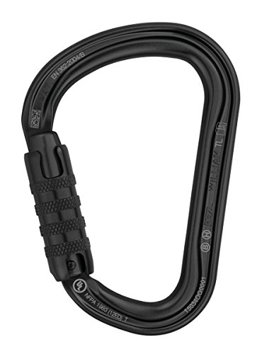 Petzl-William-Triact-Noir-Locking-Karabiner