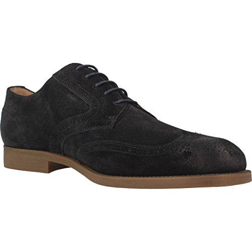 Chaussures Pour Hommes, Couleur Noir, Marque Stonefly, Modèle Shoes Man Stonefly M200 Noir Bleu