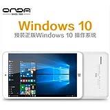 Onda V820w CH 32GB Color blanco - Tablet (Minitableta, Windows + Android, Pizarra, Windows 10 Home, Color blanco, IEEE 802.11b, IEEE 802.11g, IEEE 802.11n)