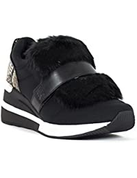 Zapatos Mujer Sneaker MICHAEL KORS Maven Trainer Scuba 43F7MVFS3D Black Active