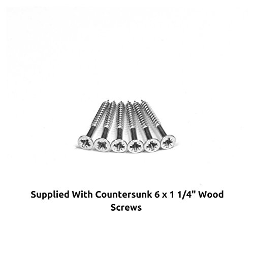 Super King 6ft Wooden Replacement Solid Pine Flat Bed Slats Set 1825mm Webbed - 13 Slat Pack