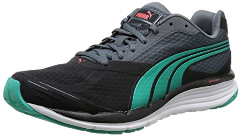Puma Faas 700 V2 Herren Laufschuhe Schwarz (Noir (Black/Turbulence/Pool Green))