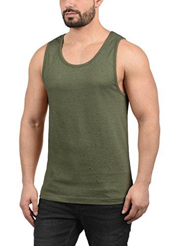 Blend Napolito Herren Tank Top Mit Rundhalsausschnitt, Größe:S, Farbe:Ivy Green (77026) -